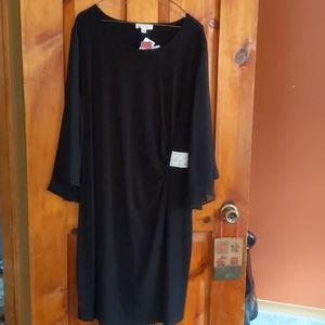 Formal dress black ladies size 20